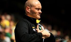 Norwich City Manager Alex Neil Championship