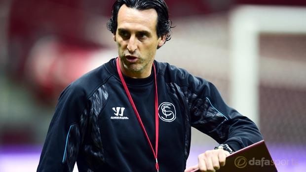 Sevilla boss Unai Emery feeling confident