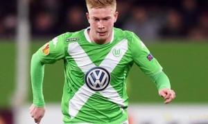 Wolfsburg midfielder Kevin De Bruyne
