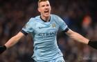 Edin Dzeko happy at Manchester City