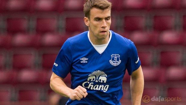 Everton defender Seamus Coleman eyes winning momentum