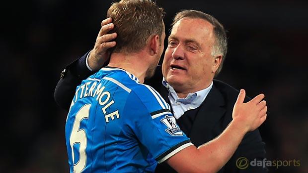 Lee Cattermole deal delights Sunderland head coach Dick Advocaat