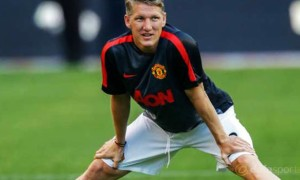Manchester United midfielder Bastian Schweinsteiger on the mend