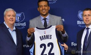 NBA: Matt Barnes ready to shine in Memphis Grizzlies