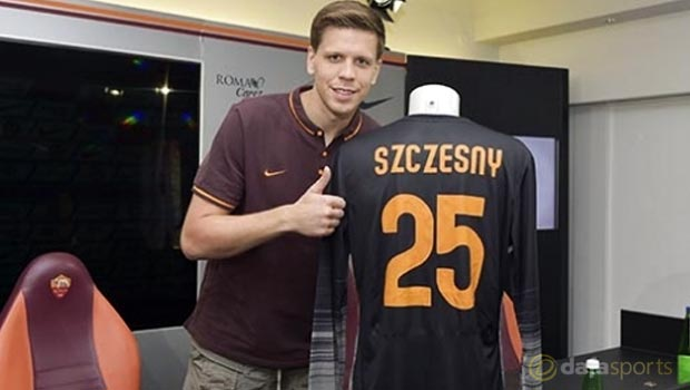 Roma's new loan signing Wojciech Szczesny targets Italian silverware