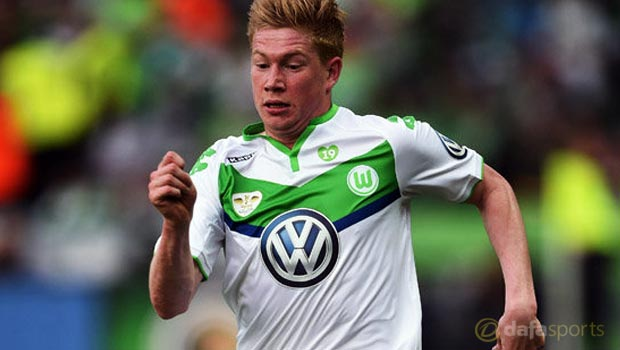 Wolfsburg determined to keep Kevin De Bruyne