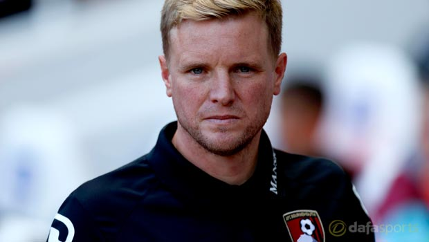 Bournemouth boss Eddie Howe cautious over transfer moves