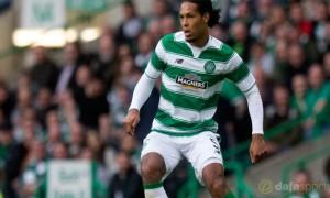 Celtic defender Virgil Van Dijk desperate for Champions League chance