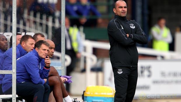 Everton boss Roberto Martinez pleased with pre-season campaign