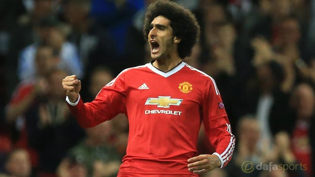 Manchester United utility man Marouane Fellaini happy to fit in