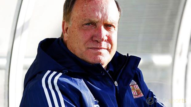Sunderland boss Dick Advocaat makes new faces admission