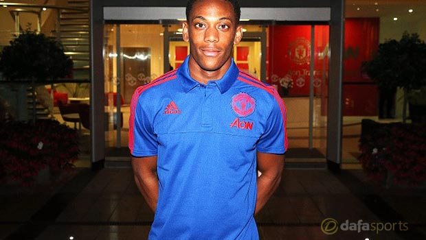 Anthony Martial undaunted after securing Manchester United move