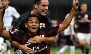 Carlos Bacca AC Milan v Palermo Serie A