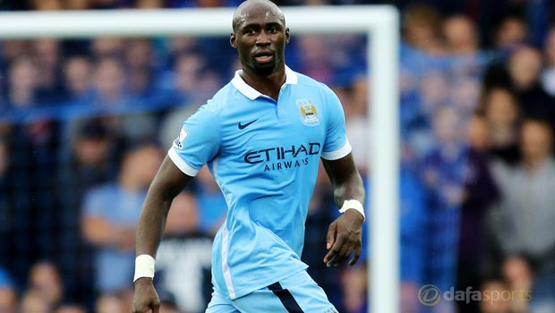 Manchester City's Eliaquim Mangala relishing competition for places