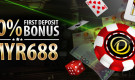 Online Casino First Deposit Bonus – Get a 100% up to MYR688 welcome bonus!