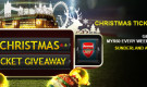 CHRISTMAS TICKET GIVEAWAY – WIN MYR60 EVERY WEEK