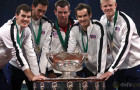 Andy Murray revels in Davis Cup glory