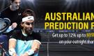 Australian Open Prediction Refund – Get up to 12% up to MYR150 refund