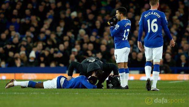 Toffees wait on Romelu Lukaku injury