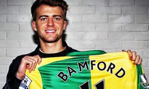 Patrick Bamford joins Norwich City