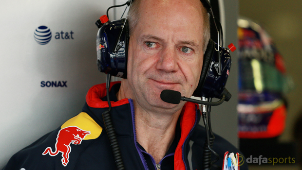 F1: Adrian Newey plays down Red Bull chances