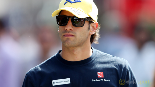 F1: Sauber's Felipe Nasr plays down delay
