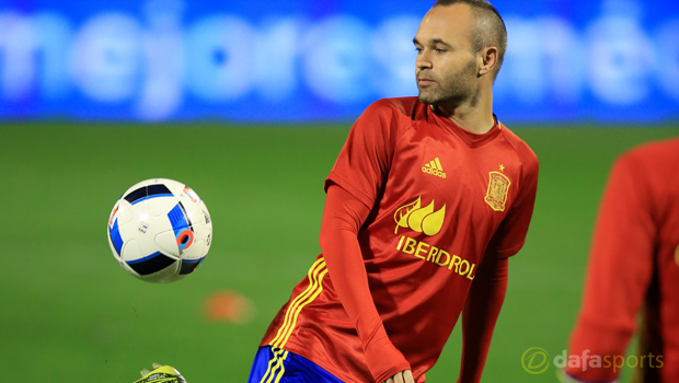 Andres Iniesta targets Euro joy for Spain