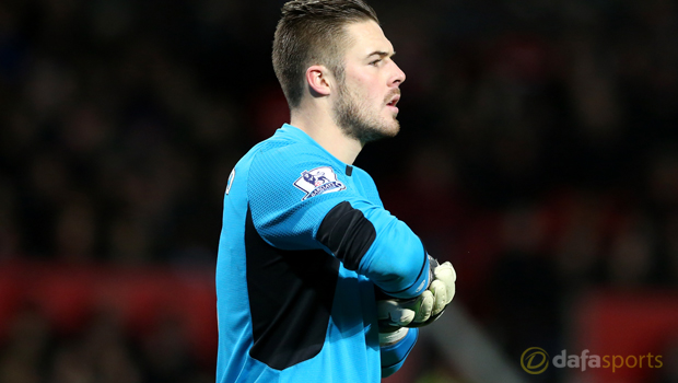 Stoke City goalkeeper Jack Butland sends out warning