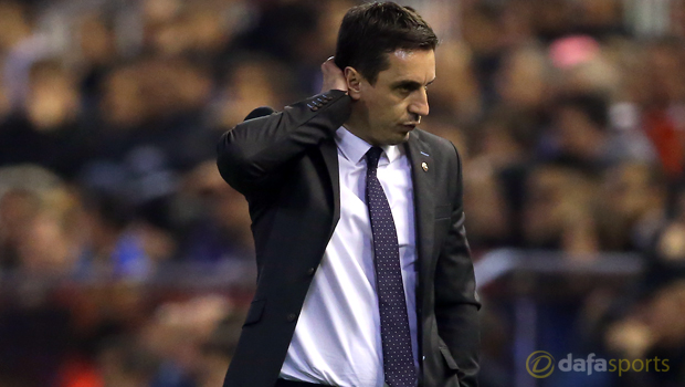 Gary Neville 'aware of the consequences' as Valencia toil again