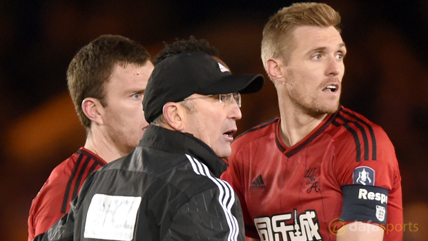 West Brom midfielder Darren Fletcher targets Wembley cup glory