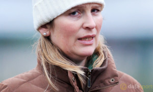 Trainer Emma Lavelle Crabbies Grand National