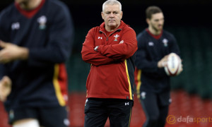 Wales coach Warren Gatland Six Nations