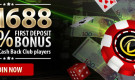 Online Casino First Deposit Bonus – Get a 100% up to RM688 welcome bonus!