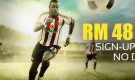 Sign Up Bonus RM48 – Get free RM48 when you sign up No deposit required!
