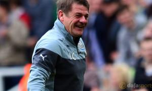 Former Newcastle United manager John Carver