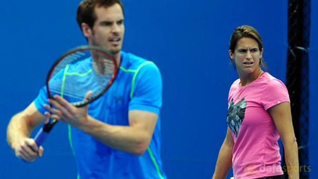 Andy Murray defends reasons behind Amelie Mauresmo split