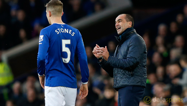 Everton boss Roberto Martinez calls for John Stones patience