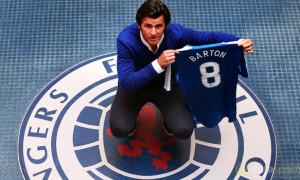 Joey Barton Rangers midfielder