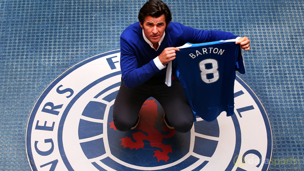 Joey Barton says Rangers move got 'blood pumping'