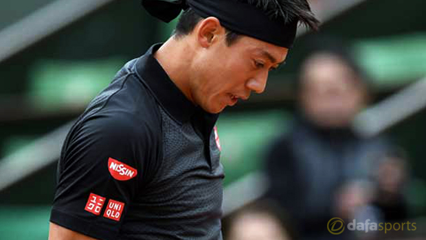 French Open: Kei Nishikori feeling confident on clay