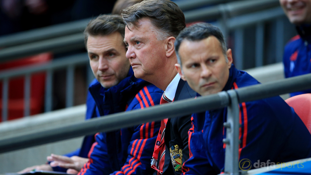 Louis Van Gaal: No title party at Old Trafford