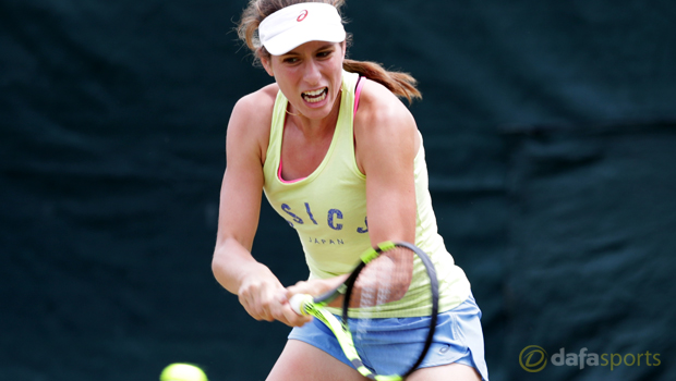 Johanna Konta excited for Wimbledon