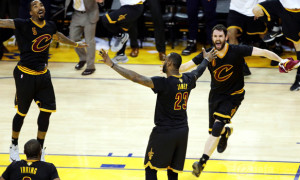 NBA Finals 2016 LeBron James Cleveland Cavaliers