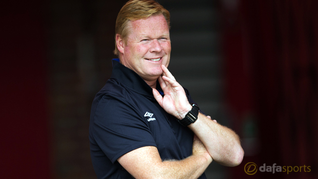 Ronald Koeman pleased with Everton progress