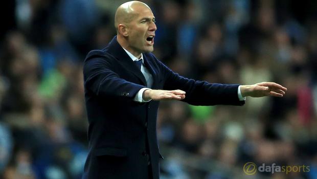 Zinedine Zidane expects Real improvement