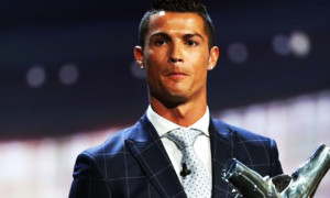 "Real Madrid's Cristiano Ronaldo won ""Best Player in Europe"" Award"