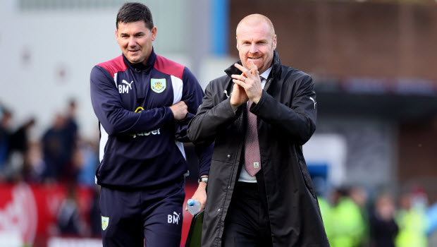 Dyche delighted with Burnley response