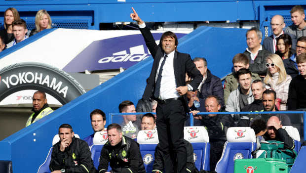 Conte hoping for patience at Stamford Bridge