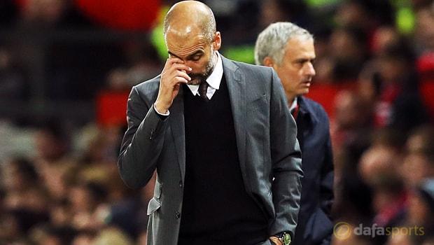 Pep Guardiola refuses to be downbeat