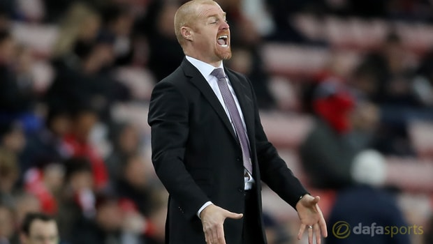Burnley manager Sean Dyche pleased with depth